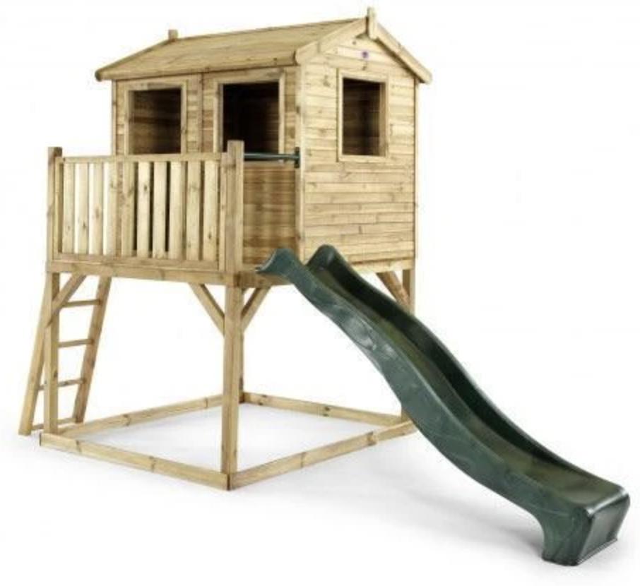 mediniai lauko nameliai vaikams